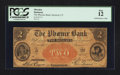 Obsoletes By State:Connecticut, Hartford, CT- The Phoenix Bank $2 March 1, 1853 G94b. ...