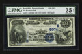 National Bank Notes:Pennsylvania, Scottdale, PA - $10 1882 Value Back Fr. 577 The Broadway NB Ch. #(E)5974. ...