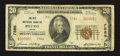 National Bank Notes:Maine, Belfast, ME - $20 1929 Ty. 2 The City NB Ch. # 7586. ...