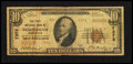 National Bank Notes:Washington, Bellingham, WA - $10 1929 Ty. 2 The First NB Ch. # 7372. ...