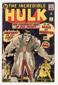 The Incredible Hulk #1 (Marvel, 1962) Condition: Apparent GD-