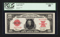 Large Size:Legal Tender Notes, Fr. 123 $10 1923 Legal Tender PCGS Extremely Fine 40.. ...