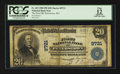 National Bank Notes:West Virginia, Peterstown, WV - $20 1902 Plain Back Fr. 653 The First NB Ch. #9721. ...
