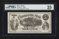 Obsoletes By State:Ohio, Akron, OH- Henry E. Abbey $5 Commission Scrip Wolka UNL Vlack UNL....