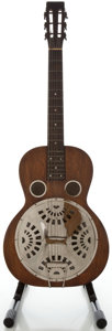 Musical Instruments:Resonator Guitars, Circa 1930's Regal Dobro Refinished Resonator Guitar...