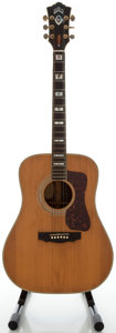 Musical Instruments:Acoustic Guitars, Circa 1973 Guild D-55 Natural Acoustic Guitar, Serial #92372....
