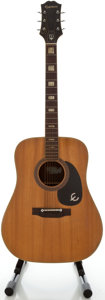 Musical Instruments:Acoustic Guitars, 1970's Epiphone Natural Acoustic Guitar...