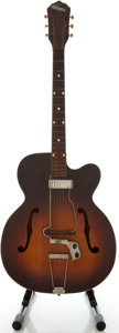 Musical Instruments:Acoustic Guitars, Circa Early 1950's Kay K1 Sunburst Archtop Acoustic Guitar...
