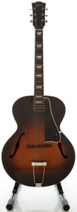 Musical Instruments:Acoustic Guitars, Circa Late 1940's Gibson L-50 Sunburst Archtop Acoustic Guitar,Serial #998 12....