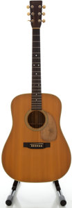 Musical Instruments:Acoustic Guitars, 1973 Martin D-28 Natural Acoustic Guitar, Serial #331601....