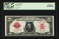 Large Size:Legal Tender Notes, Fr. 123 $10 1923 Legal Tender PCGS Choice New 63PPQ.. ...