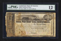 Confederate Notes:Group Lots, Ball 277 Cr. 137 $5000 1863 Four Per Cent Call Certificate.. ...