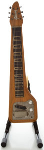 Musical Instruments:Lap Steel Guitars, Circa 1962 Gibson Skylark Korina Lap Steel Guitar, Serial#80688....