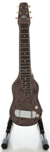 Musical Instruments:Lap Steel Guitars, Circa 1950's Magnatone MOTS Lap Steel Guitar....