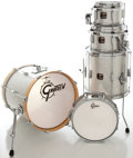 Musical Instruments:Drums & Percussion, Recent Gretsch Catalina Elite Silver Sparkle Drum Set.... (Total: 5 Items)