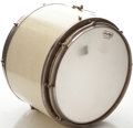 Musical Instruments:Drums & Percussion, Circa 1950's Duplex White MOTS Snare Drum....