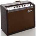 Musical Instruments:Amplifiers, PA, & Effects, Circa 1964 Gibson Falcon Brown Guitar Amplifier, Serial #772930....