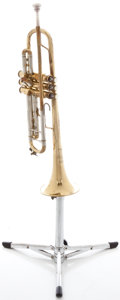 Musical Instruments:Horns & Wind Instruments, Circa 1953 Bach Stradivarius Model 37 Trumpet, Serial #12699....