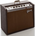 Musical Instruments:Amplifiers, PA, & Effects, 1960's Gibson Falcon Brown Guitar Amplifier, Serial #774459....