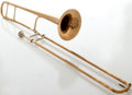 "Musical Instruments:Horns & Wind Instruments, Circa 1940's Selmer ""Special"" 23 Brass Trombone, Serial #2532...."