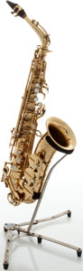 Musical Instruments:Horns & Wind Instruments, Circa 1960's Dolnet Paris Brass Alto Saxophone, Serial #81347 M70....