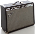 Musical Instruments:Amplifiers, PA, & Effects, 1970's Fender Vibrolux Reverb Silverface Guitar Amplifier, Serial#A24187....