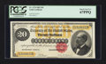 Large Size:Gold Certificates, Fr. 1178 $20 1882 Gold Certificate PCGS Superb Gem New 67PPQ.. ...