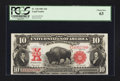 Large Size:Legal Tender Notes, Fr. 120 $10 1901 Legal Tender PCGS Choice New 63.. ...