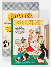 Blondie Hardback Books Group (David McKay Publications/Bell, 1944-47) Condition: Average VF/NM.... (Total: 4 Items)