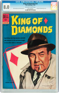Silver Age (1956-1969):Mystery, King of Diamonds #nn (Dell, 1962) CGC VF 8.0 Off-white to whitepages....