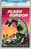 Silver Age (1956-1969):Science Fiction, Flash Gordon #1 (Gold Key, 1965) CGC NM- 9.2 White pages....