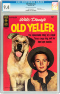 Silver Age (1956-1969):Adventure, Movie Comics - Old Yeller #nn (Gold Key, 1966) CGC NM 9.4 Off-white to white pages....