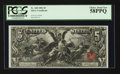 Large Size:Silver Certificates, Fr. 268 $5 1896 Silver Certificate PCGS Choice About New 58PPQ.. ...