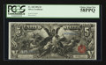 Large Size:Silver Certificates, Fr. 268 $5 1896 Silver Certificate PCGS Choice About New 58PPQ.....