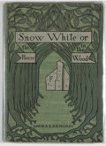 Books:Children's Books, Laura E. Richards. Snow-White; or, the House in the Wood.Boston: Dana Estes, [1900]. First edition, first print...