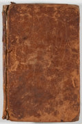 Books:Literature Pre-1900, James Thomson. The Seasons. Frederick-Town: Thomson, 1810.Later edition. Twelvemo. 226 pages. Contemporary leather ...