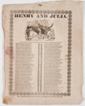 Books:Periodicals, Group of Three 19th Century Newspaper Related Items, including:...