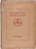 Books:Art & Architecture, Stanford White. Sketches and Designs by Stanford White. New York: Architectural Book Publishing, 1920. First edition...