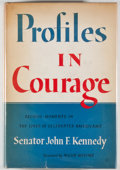 Books:Americana & American History, John F. Kennedy. Profiles in Courage. New York: Harper &Brothers, [1956]. Later impression. Octavo. 266 pages. ...