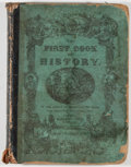 Books:Americana & American History, [Texas as a Republic]. The First Book of History, Combined withGeography; Containing the History and Geography of the W...