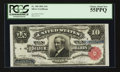 Large Size:Silver Certificates, Fr. 300 $10 1891 Silver Certificate PCGS Choice About New 55PPQ.. ...