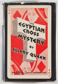 Books:Mystery & Detective Fiction, Ellery Queen. The Egyptian Cross Mystery, A Problem inDeduction. New York: Frederick A. Stokes, 1932. Firstedition...