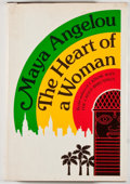 Books:Biography & Memoir, Maya Angelou. The Heart of a Woman. New York: Random House,[1981]. First edition, first printing. Octavo. 272 p...