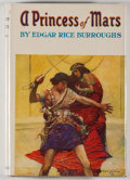 Books:Science Fiction & Fantasy, [Jerry Weist]. Edgar Rice Burroughs. A Princess of Mars. Tarzana: Burroughs, [1948]. Later edition. Octavo. 326 page...