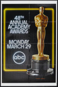 "Movie Posters:Academy Award Winner, Academy Awards Poster (AMPAS, 1975). One Sheet (27"" X 41""). The48th Annual Academy Awards took place on March 29, 1976. Thi..."