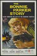 "Movie Posters:Crime, The Bonnie Parker Story (American International, 1958). One Sheet(27"" X 41""). Crime. Starring Dorothy Provine, Jack Hogan, ..."