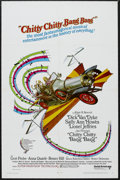 "Movie Posters:Comedy, Chitty Chitty Bang Bang (United Artists, 1968). One Sheet (27"" X 41""). Fantasy. Starring Dick Van Dyke, Sally Ann Howes, Lio..."