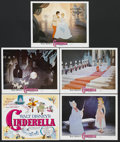 "Movie Posters:Animated, Cinderella (Buena Vista, R-1981). Title Lobby Card (11"" X 14"") and Lobby Cards (4) (11"" X 14""). Animated Musical. Starring t... (Total: 5 Items)"