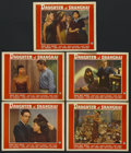 "Movie Posters:Crime, Daughter of Shanghai (Paramount, 1937). Lobby Cards (5) (11"" X14""). Crime. Starring Anna May Wong, Philip Ahn, Charles Bick...(Total: 5 Items)"