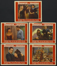 "Daughter of Shanghai (Paramount, 1937). Lobby Cards (5) (11"" X 14""). Crime. Starring Anna May Wong, Philip Ahn..."